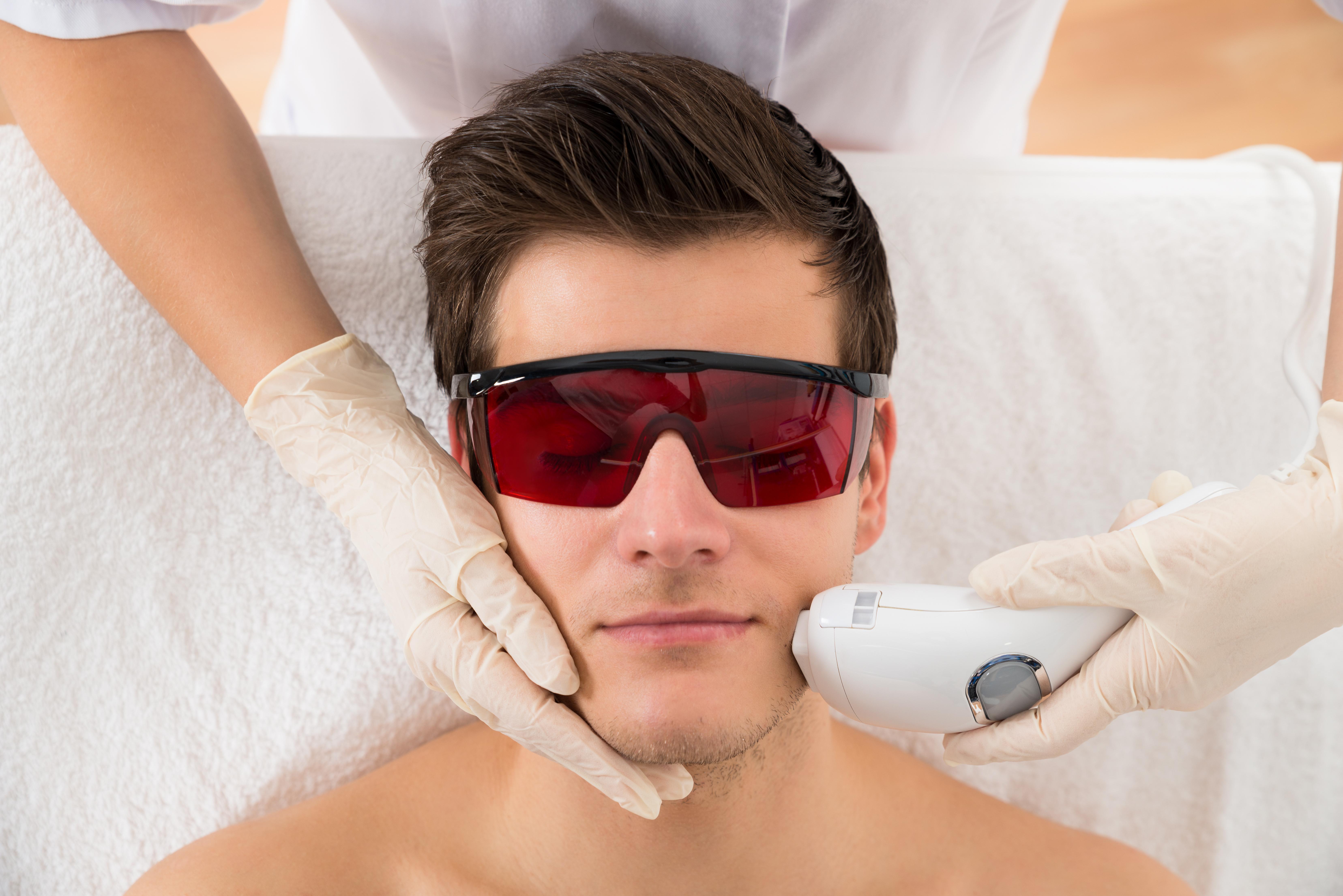 Laser Hair Treatment for Men